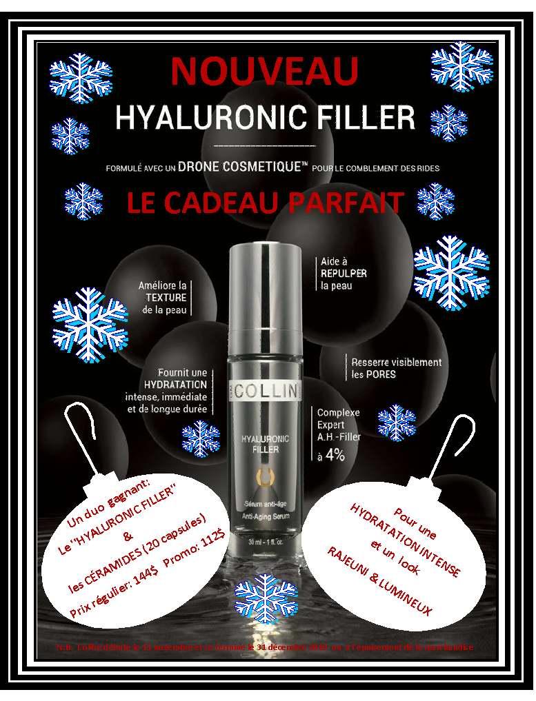 Hyaluronic Filler lancement-2 Fêtes 2019